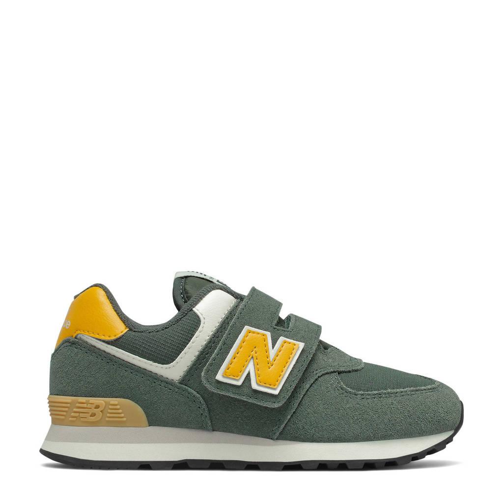 New Balance 574  sneakers groen/geel, Groen