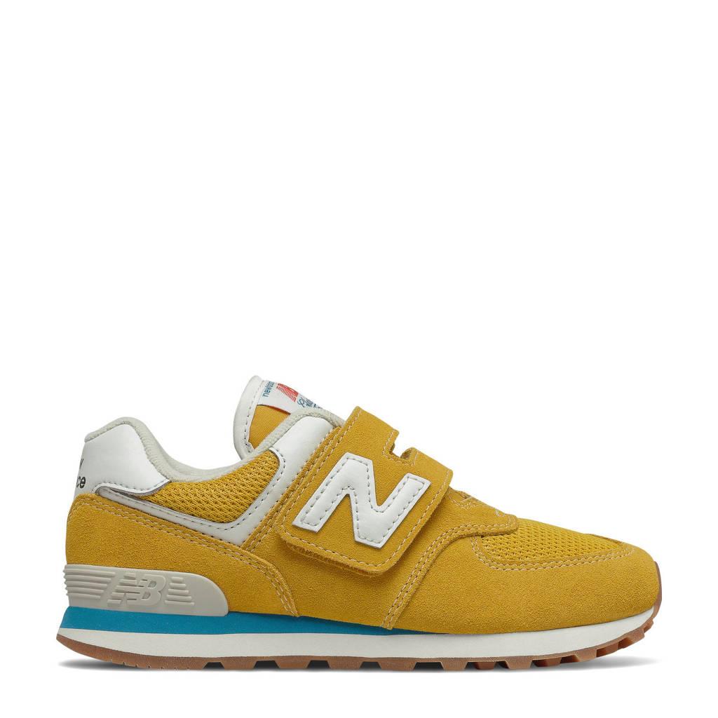 New Balance 574  sneakers geel/wit, Geel/wit