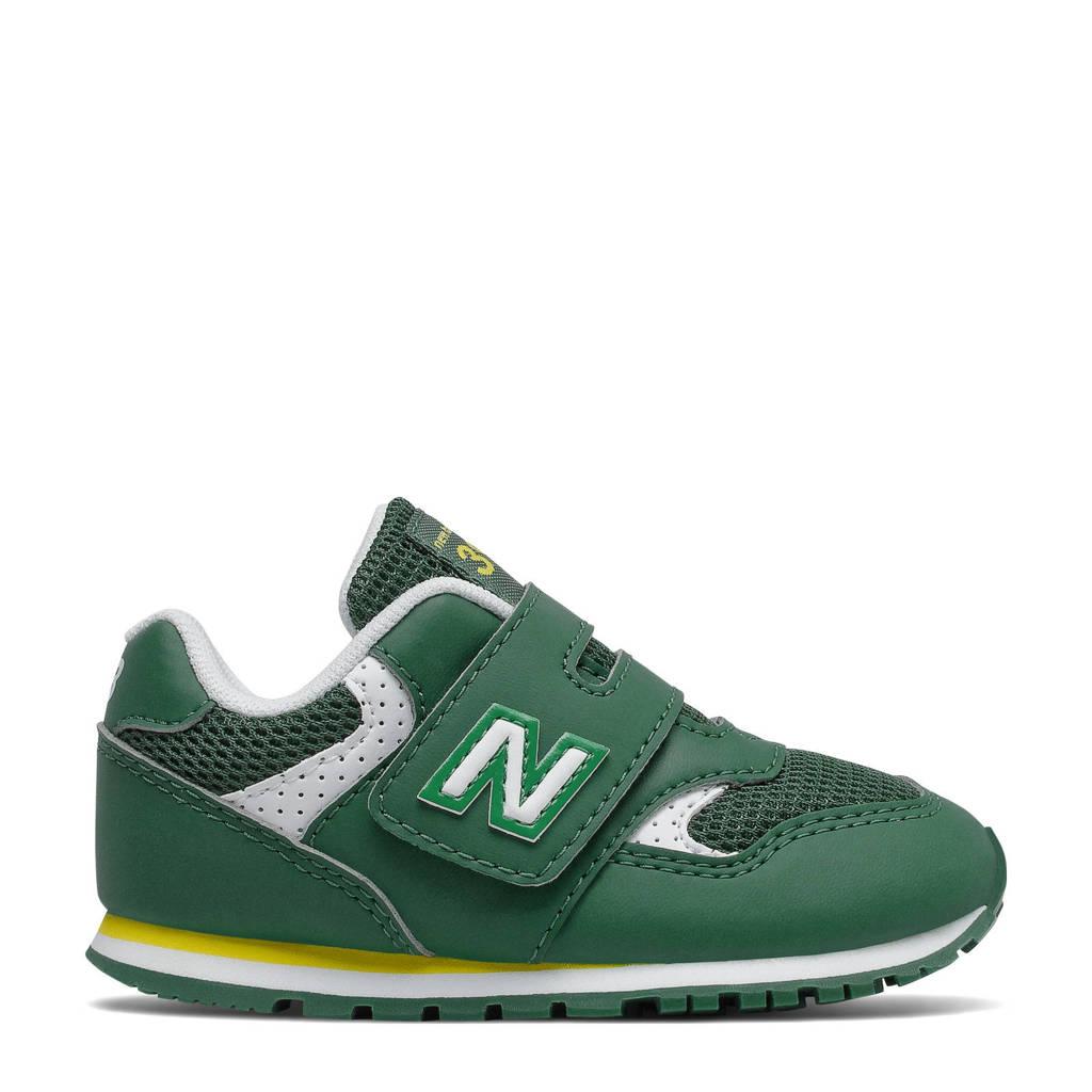 New Balance 393  sneakers groen/geel/wit, Groen/geel/wit