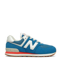 New Balance 574  sneakers blauw/wit/rood, Blauw/wit/rood
