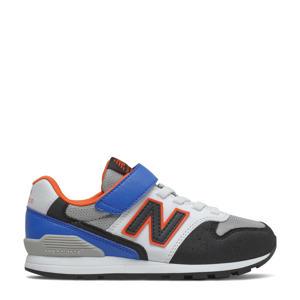 996  sneakers blauw/oranje/grijs