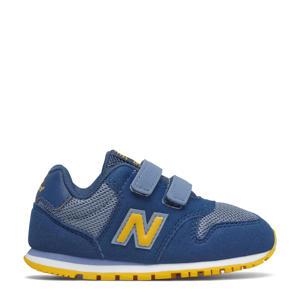 500  sneakers blauw/geel