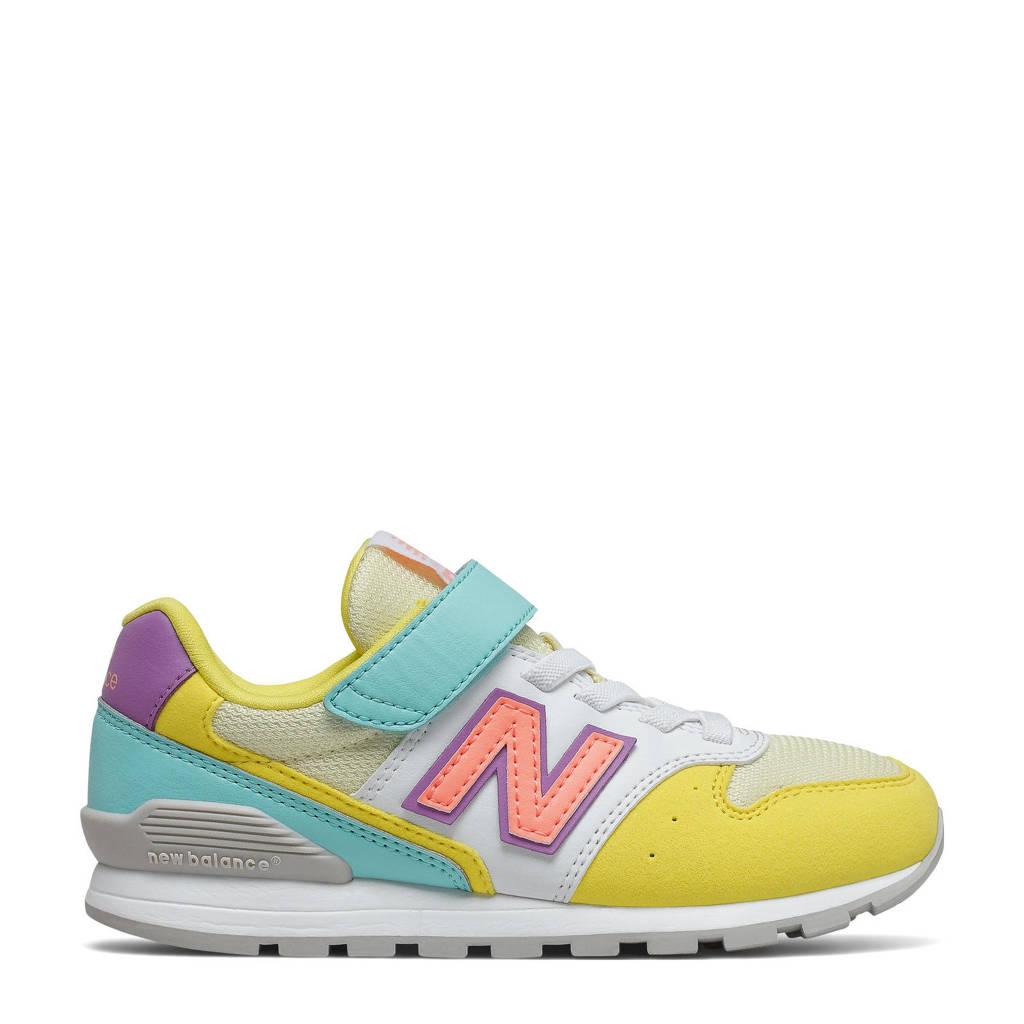 New Balance 996  sneaker geel/aqua, Geel/aqua