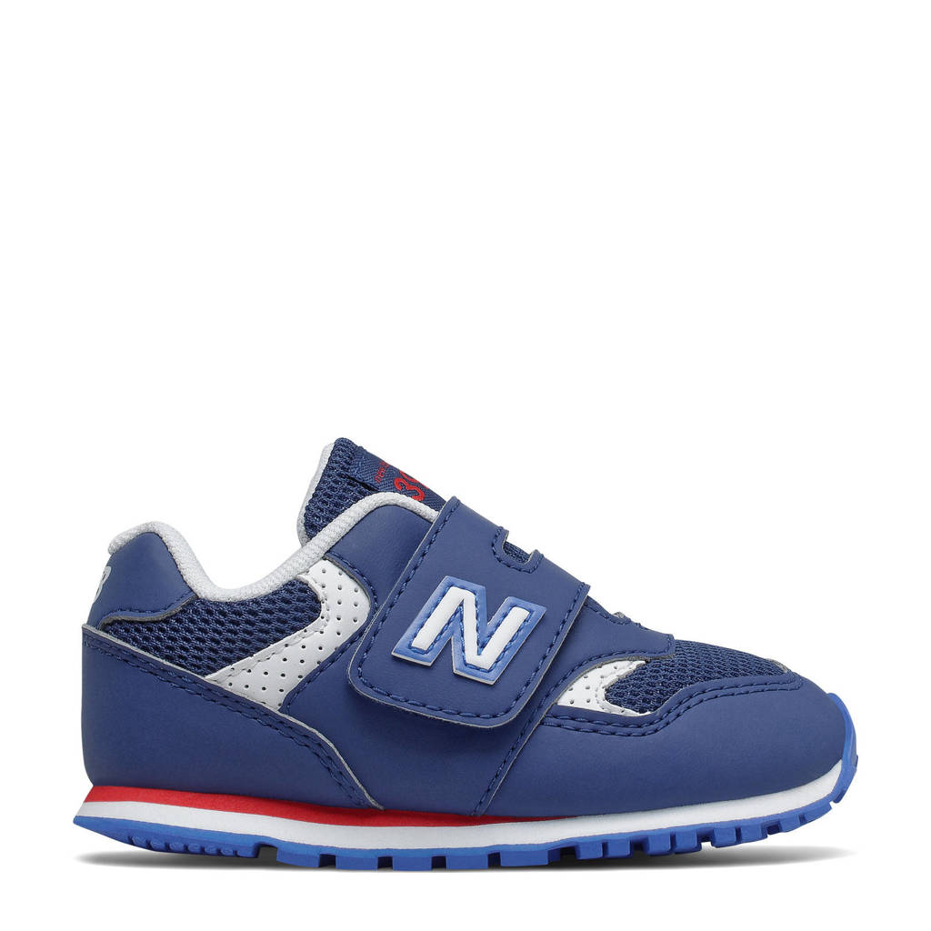New Balance 393  sneakers blauw/wit/rood, Blauw/wit/rood