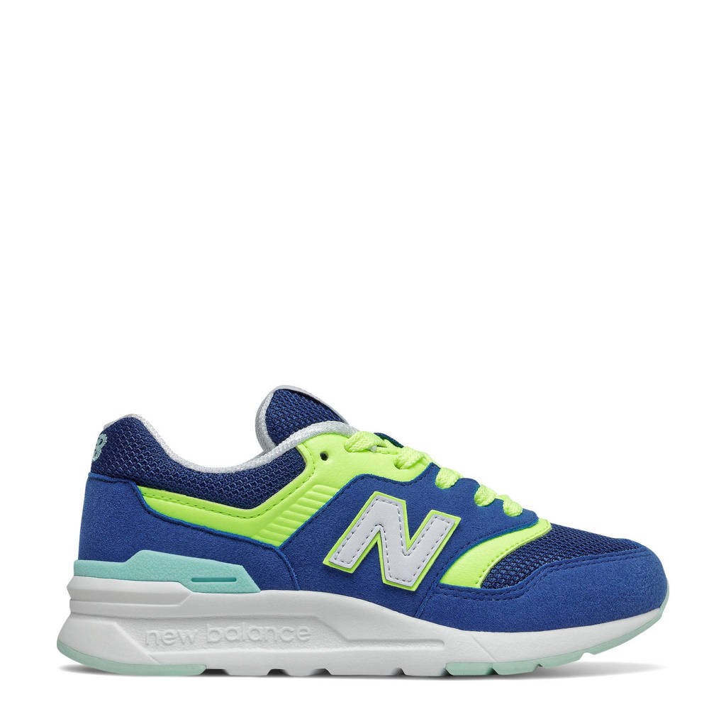 New Balance 997  sneakers kobaltblauw/geel, Kobaltblauw/geel