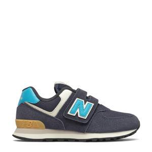 574  sneakers donkerblauw/blauw