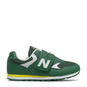 393  sneakers groen/geel/wit