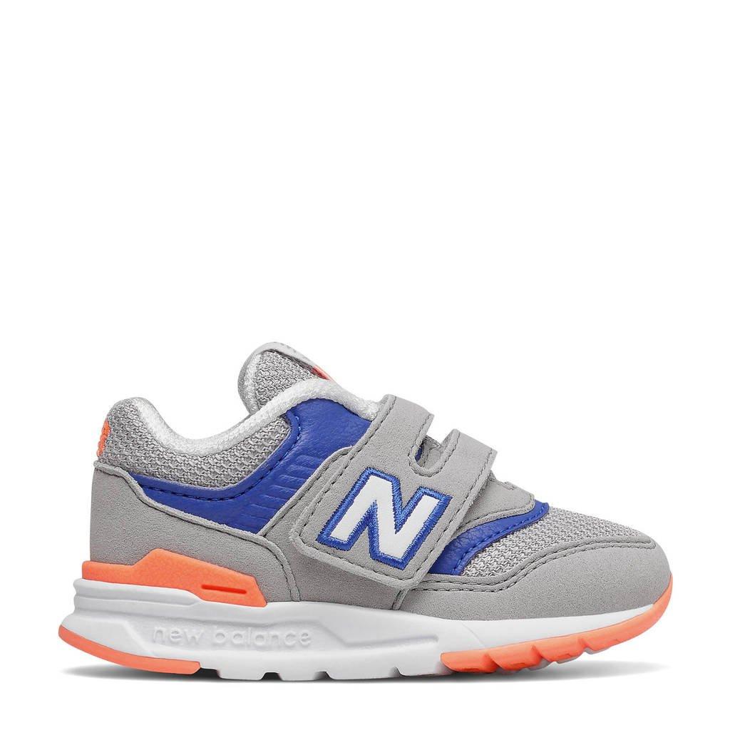 New Balance 997  sneakers grijs/kobaltblauw/oranje