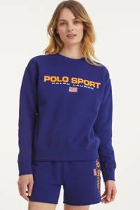 POLO Ralph Lauren sweater met logo blauw, Blauw