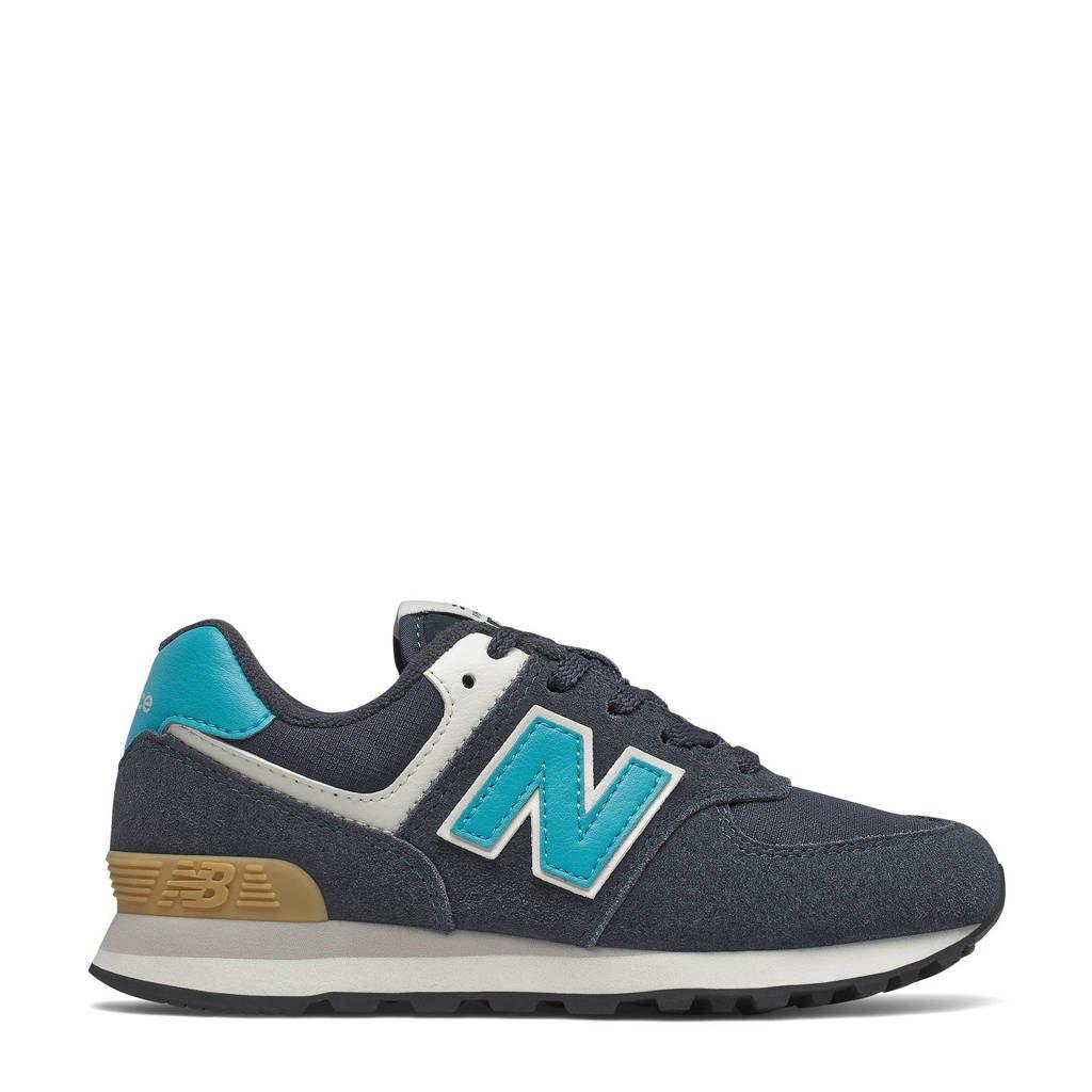 New Balance 574  sneakers donkerblauw/aqua, donkeblauw/aqua