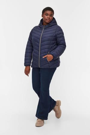 gewatteerde jas MSALLY donkerblauw