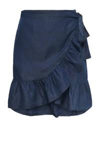 ONLY mini rok ONLSOFIA donkerblauw, Donkerblauw