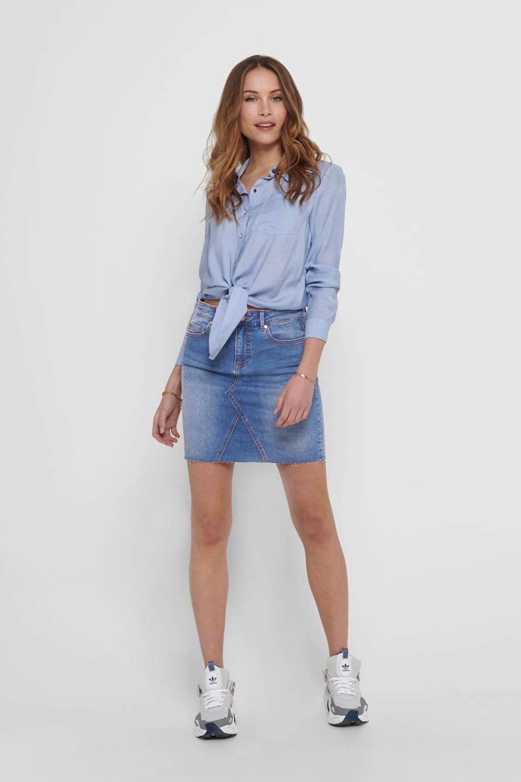 ONLY blouse ONLDANI  lichtblauw, Lichtblauw