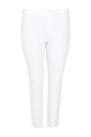 cropped slim fit chino wit