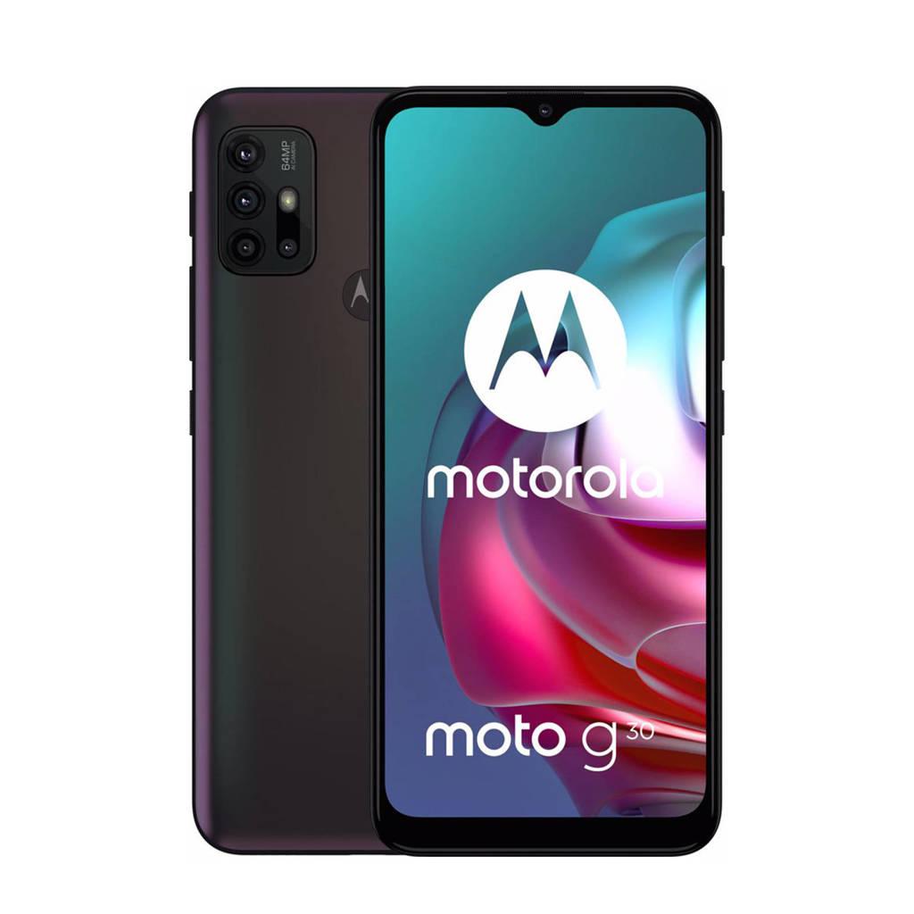 Motorola Moto G30 128 GB (zwart), Zwart