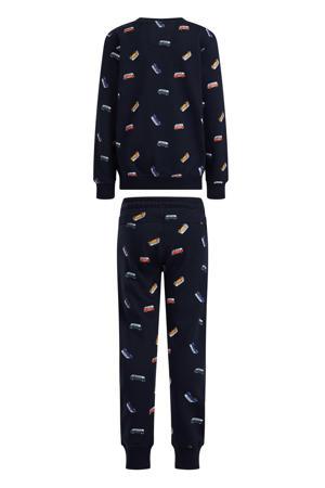 sweater + joggingbroek donkerblauw