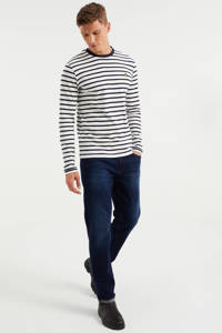 WE Fashion Blue Ridge regular fit jeans blue used denim, Blue Used Denim