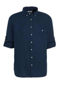 C&A Canda overhemd donkerblauw, Donkerblauw