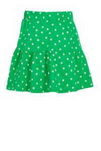 C&A Palomino gebloemde rok van biologisch katoen groen/wit, Groen/wit