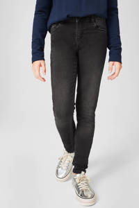 C&A Here & There high waist skinny jeans zwart, Zwart