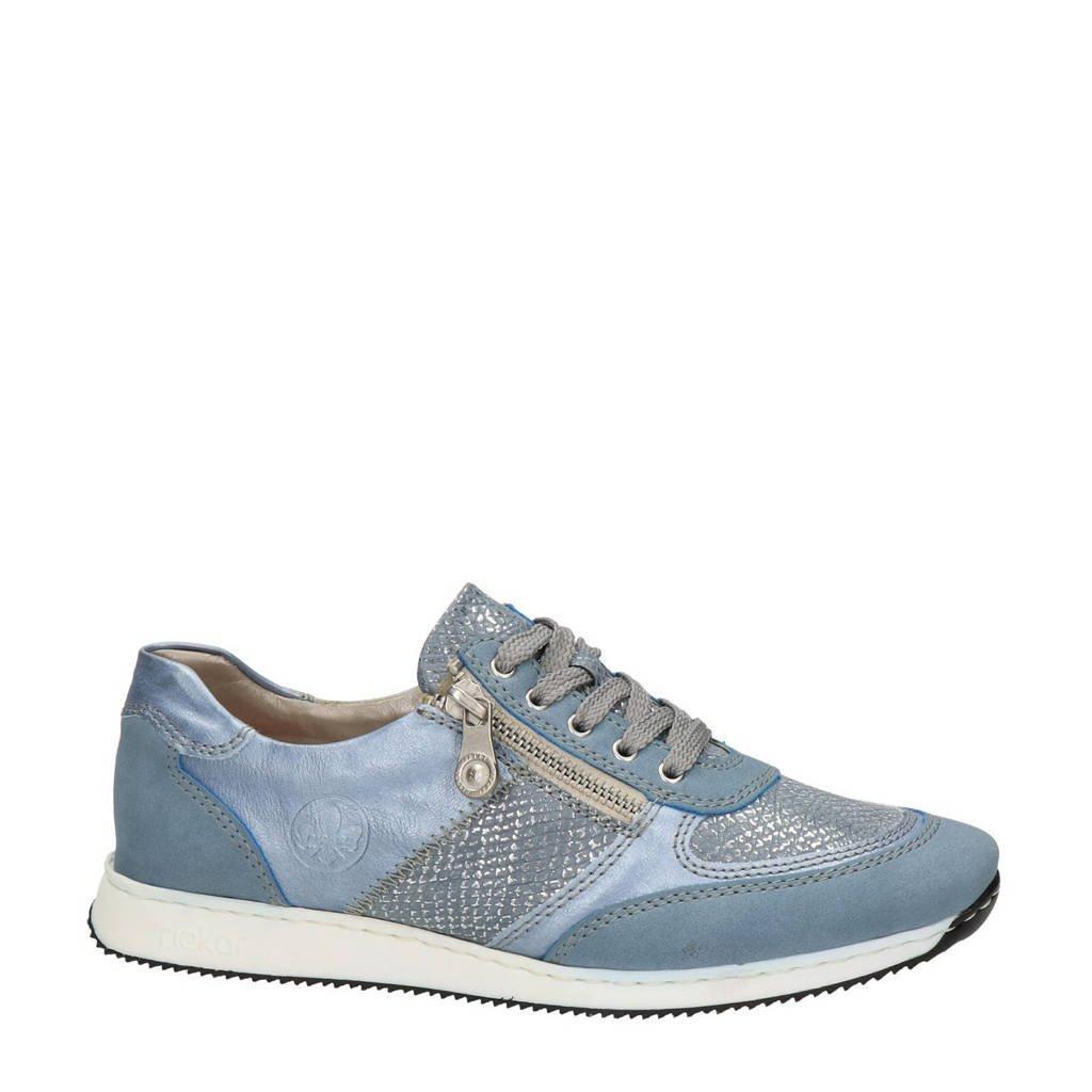 Rieker   sneakers lichtblauw, Lichtblauw