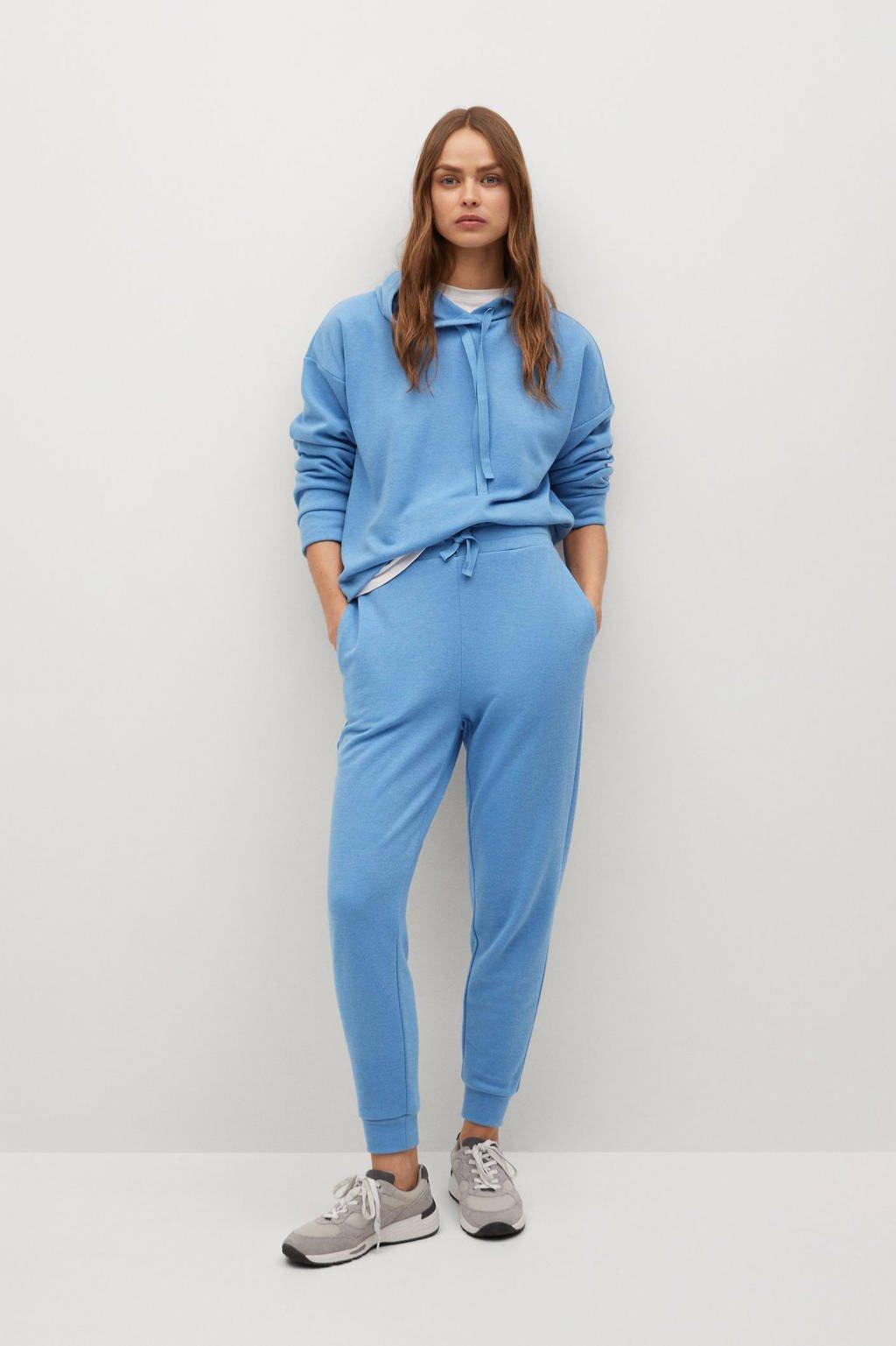 Mango hoodie lichtblauw, Lichtblauw