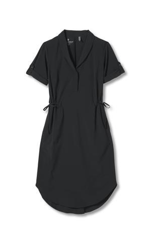 outdoor jurk zwart