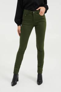 WE Fashion skinny jeans heavy green, Heavy Green