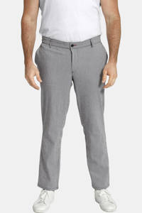 Charles Colby gestreepte loose fit chino BARON PHARRELL Plus Size blauw, Blauw