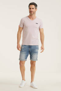 G-Star RAW 3301 slim fit jeans short stonewashed, Stonewashed