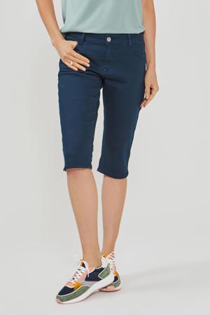 skinny capri donkerblauw