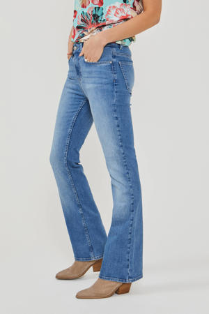 flared jeans light denim