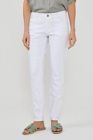 slim fit jeans wit