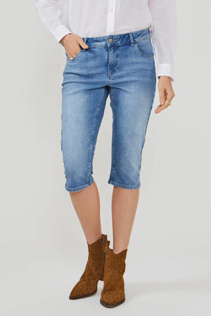 skinny capri light denim