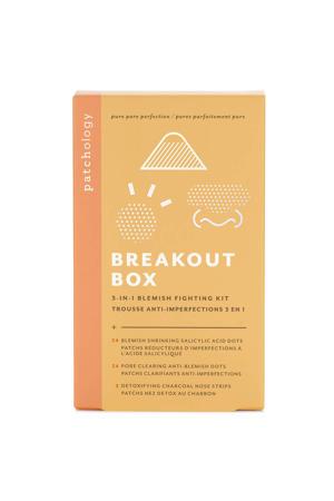 Breakout Box Treatment Kit gezichtsmasker set