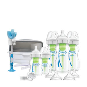 newborn Options+ anti-colic giftset fles brede hals
