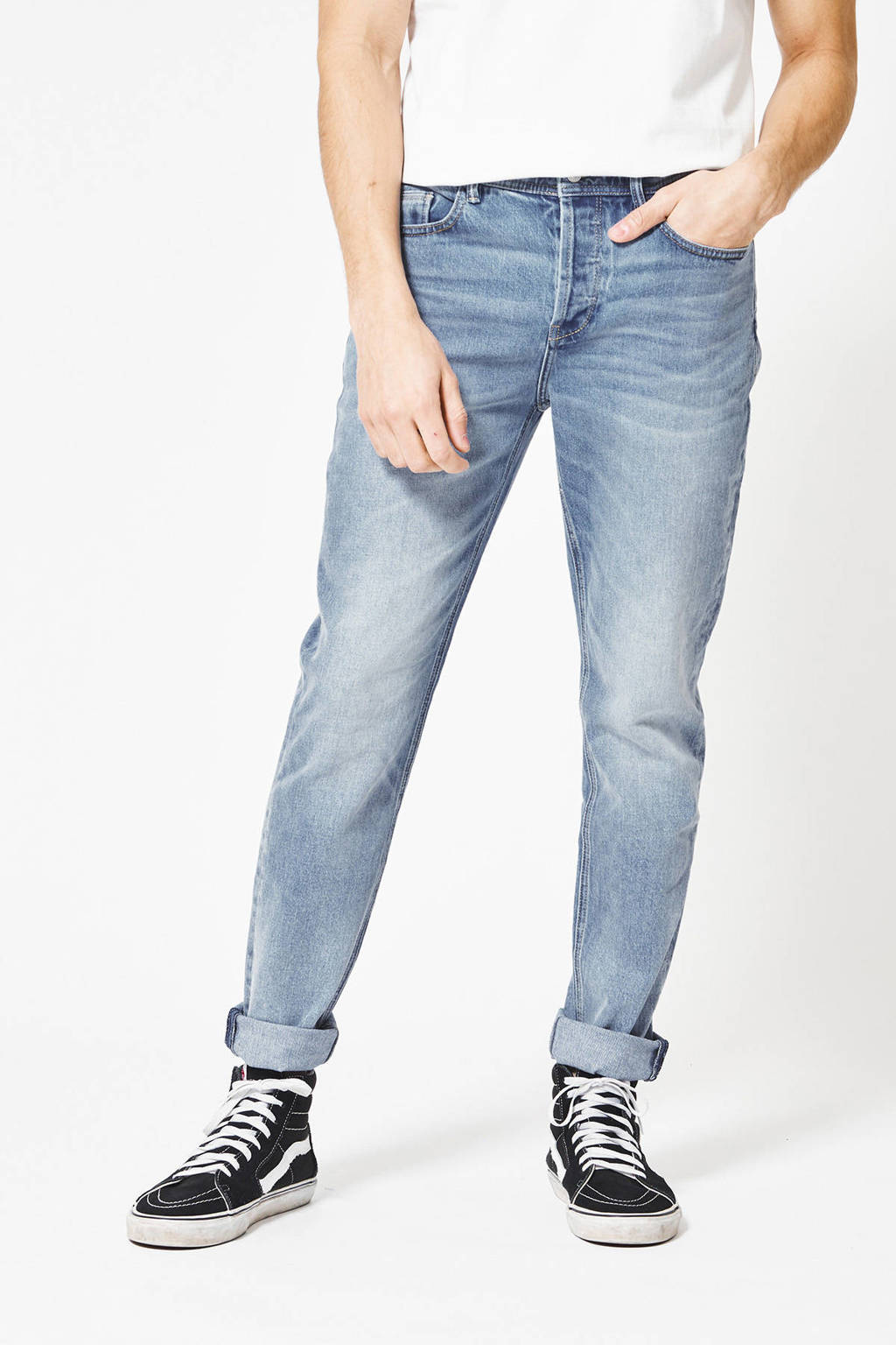 America Today slim fit jeans Neil light stone washed, Light Stone Washed