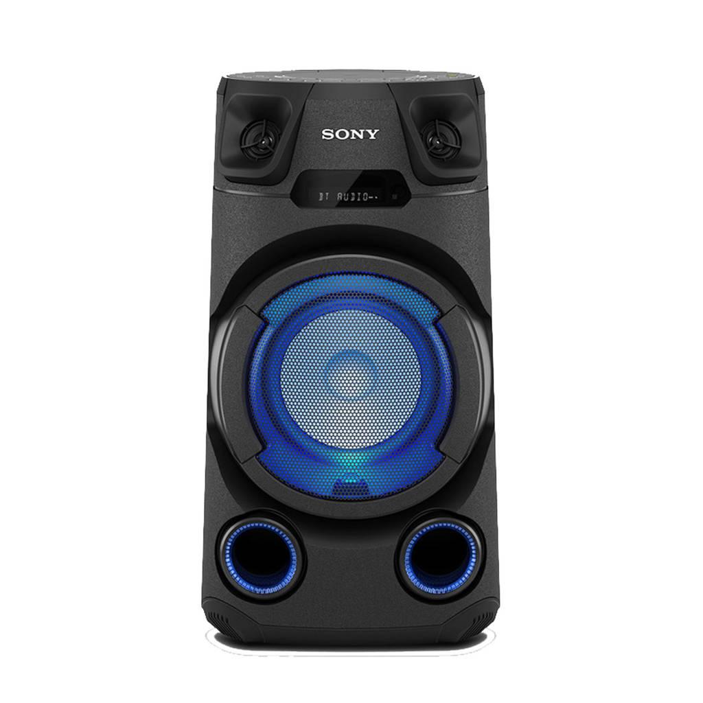 Sony MHCV13.CEL  party speaker, Zwart