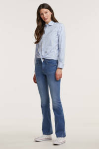 C&A Yessica flared jeans blauw, Blauw