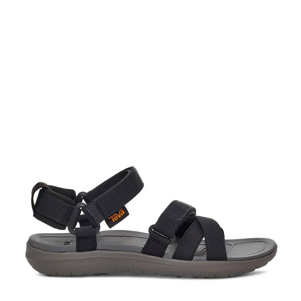 Teva Mia  sandalen zwart, Zwart