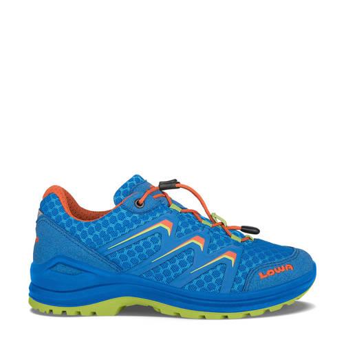 Lowa Maddox Lo wandelschoenen kobaltblauw/oranje kids