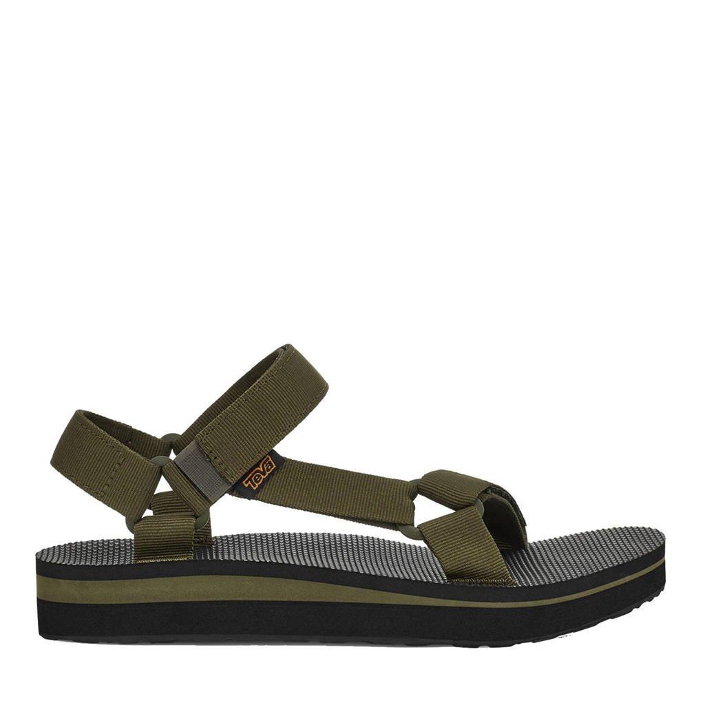 Teva Mid Universal  sandalen olijfgroen, Olijfgroen