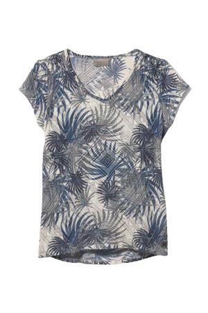 outdoor T-shirt Featherweight blauw/créme