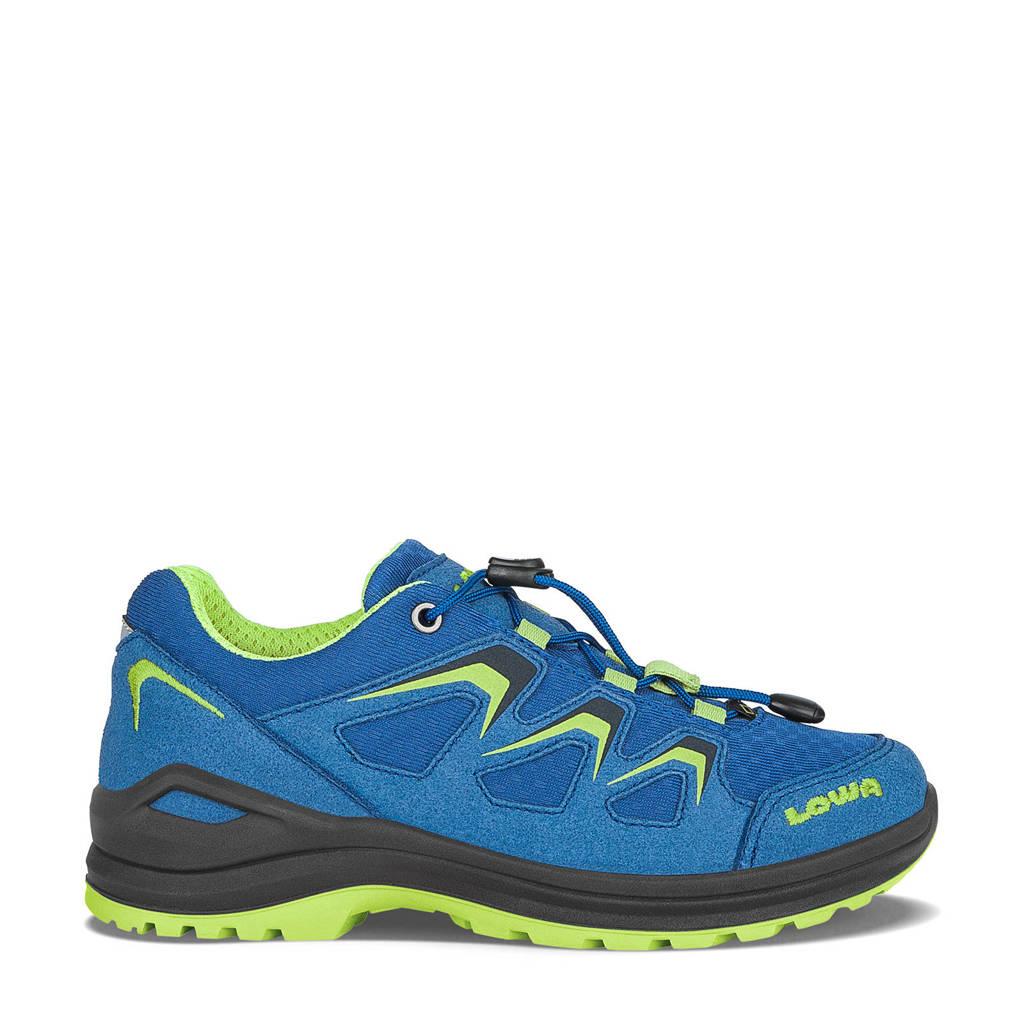 Lowa Innox Evo wandelschoenen kobaltblauw/lime kids, Blue-Lime