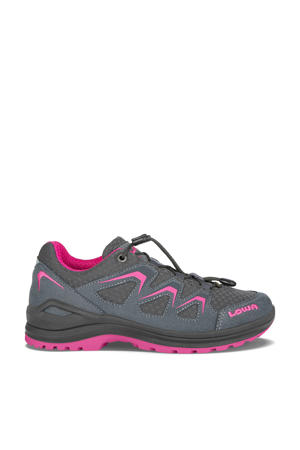 Innox Evo wandelschoenen antraciet/roze kids