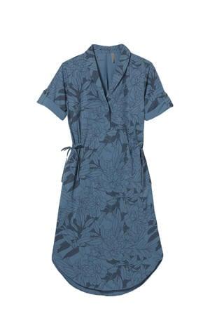outdoor jurk blauw