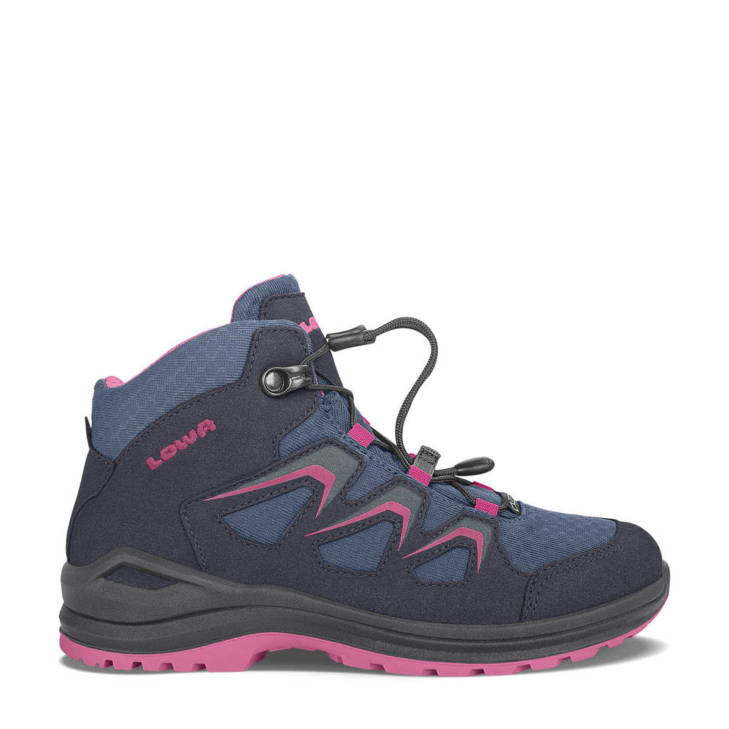 Lowa Innox Evo wandelschoenen donkerblauw/roze kids, Navy-Berry