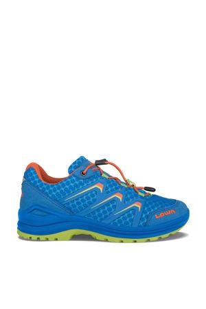 Maddow Lo wandelschoenen kobaltblauw/oranje kids