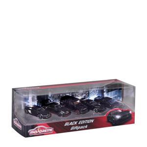 Black Edition 5 Pieces Giftpack Metalen voertuigen
