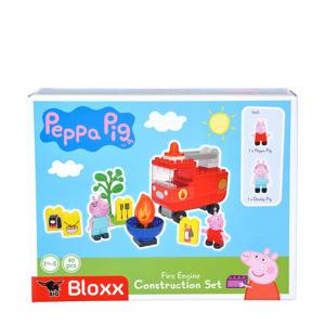 Bloxx Peppa Pig Brandweerwagen